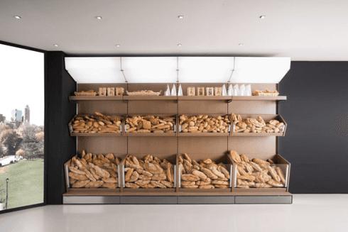 Scaffali porta pane