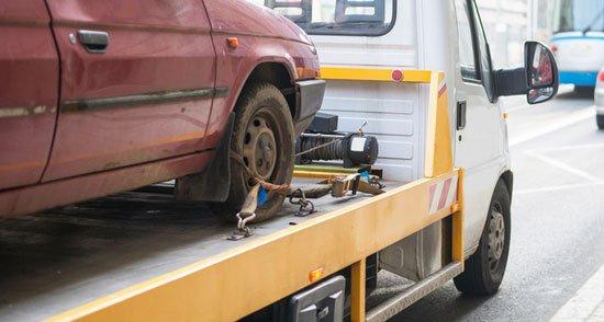 Junk Car Towing Fayetteville, NC