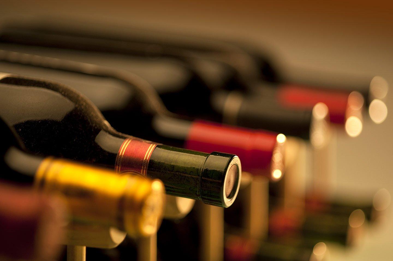 selezione di bottiglie