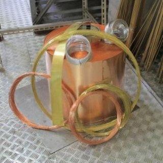 Lastra Rame e filo Rame Fili di alluminio