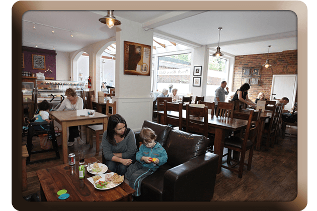 Bistro restaurant - Croydon, South London - Coach House Café - Cafe and Restaurant 5