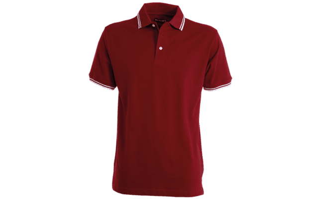 polo skipper bordeaux