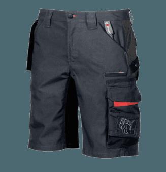 pantalone corto con logo