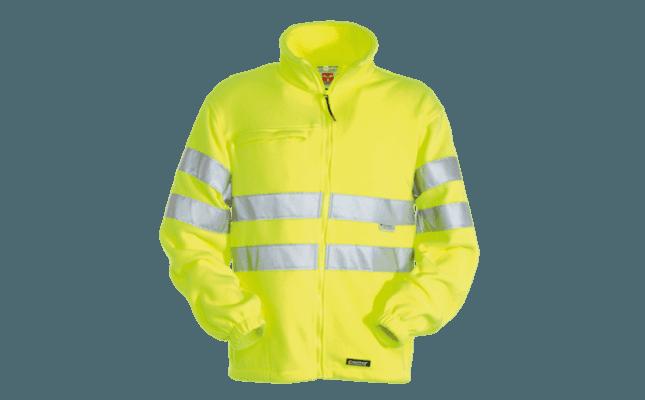 felpa giallo fluo visibilità