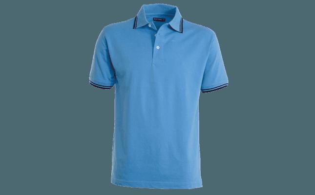 polo skipper azzurra