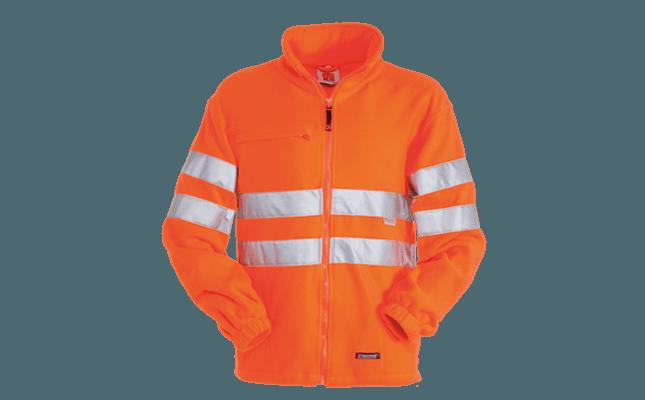 polo alta visibilita' arancio