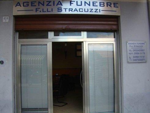 Entrata Agenzia Funebre  F.lli Stracuzzi