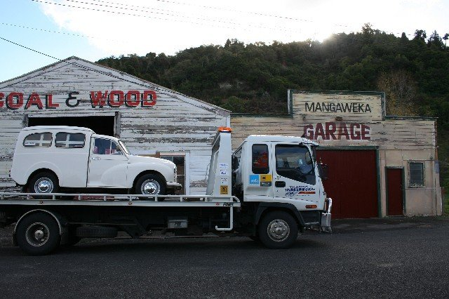 Towing truck in New zealand