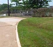 spray grass industries road side grass irrigation