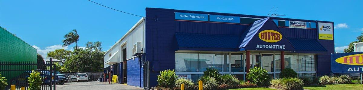 hunter automotive our service center