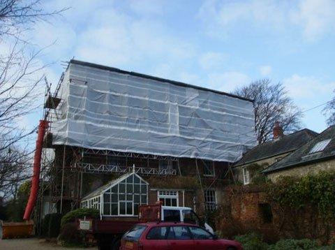 renovation scaffolding