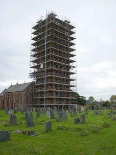 large scaffolding