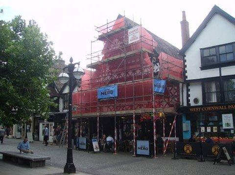 small scaffolding