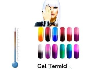 gel termici per unghie