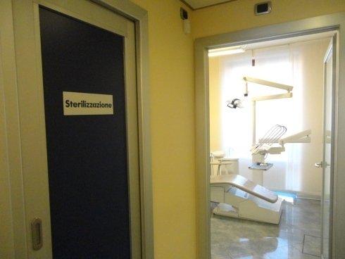 Sala per la sterilizzazione