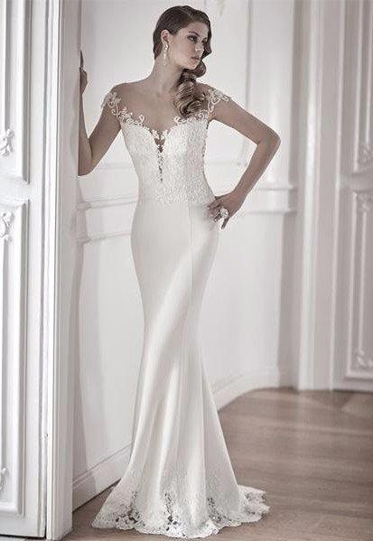 sartoria vestiti da sposa in seta Bitonto