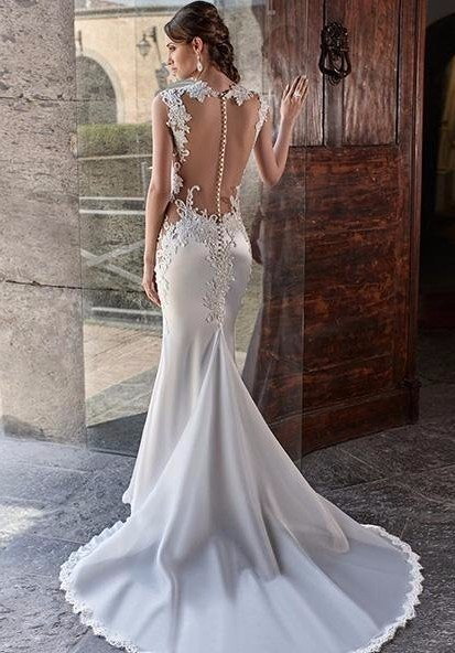 vestiti matrimonio in seta Bari
