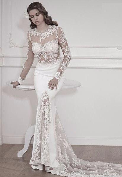 abito nozze ricamato alta moda