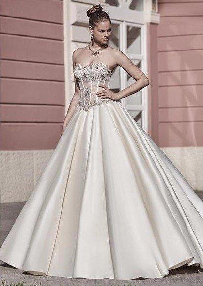 vestiti matrimonio in seta