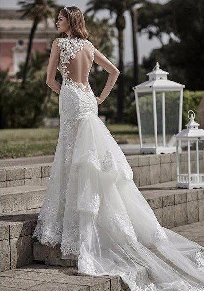 atelier vestiti da sposa in seta Giulio Lovero