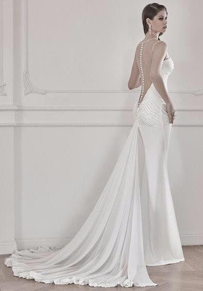 vestiti da sposa in seta