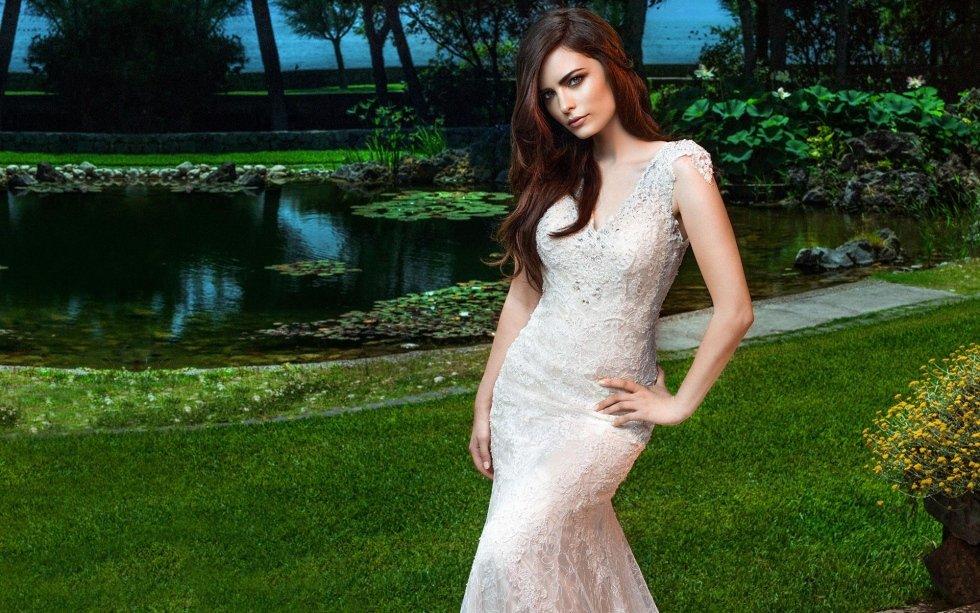 abiti da sposa in seta