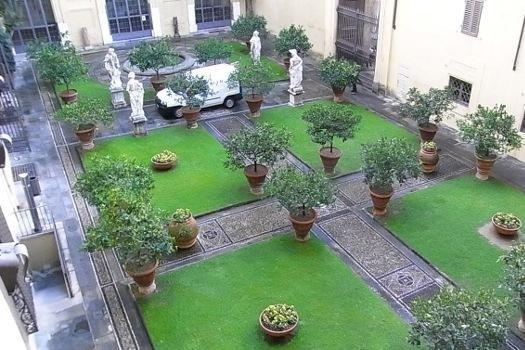 Recupero giardini antichi