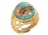 perle di caltagirone anello
