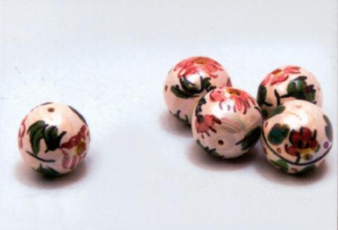perle di caltagirone avorio e rosa