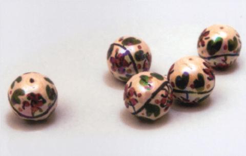 perle caltagirone fiori viola