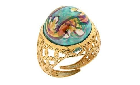 anello perle di caltagiorne