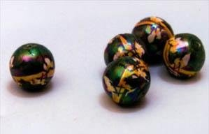 perle caltagirone decorate verde