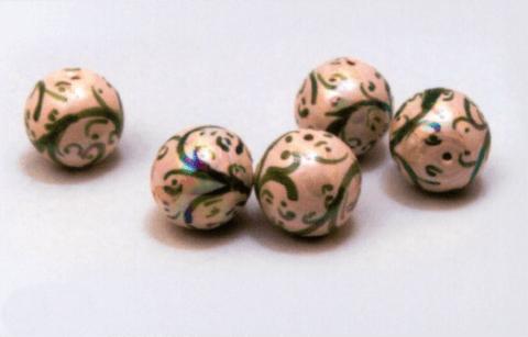 perle caltagirone decori verde
