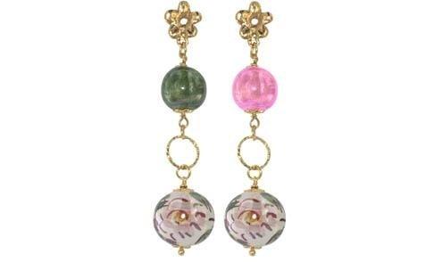 orecchini margherita perle di caltagiorne