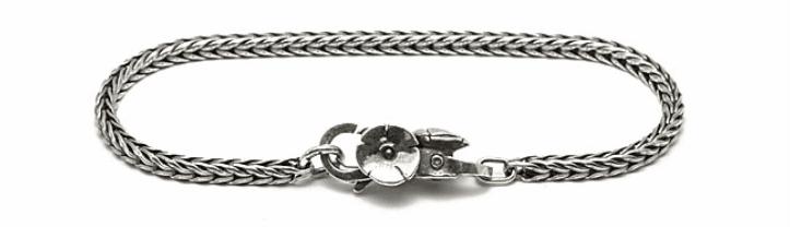 bracciale in argento Trollbeads