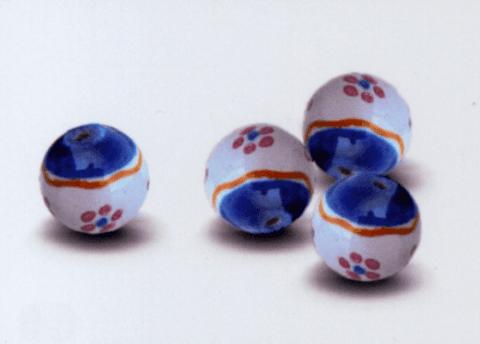 perle caltagirone decorate blu