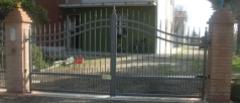 Cancello in alluminio