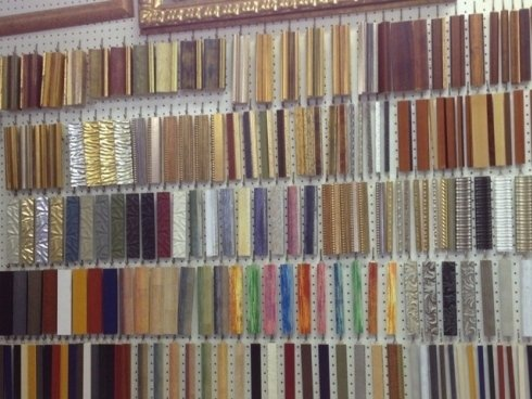 Cornici di tutti i colori e materiali, Vetreria71 Roma