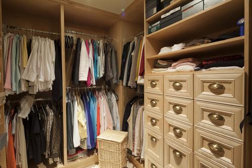Pre designed and custom closets