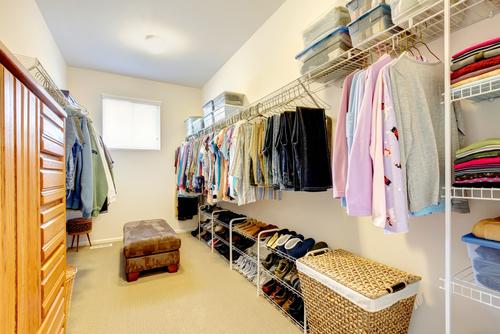 Custom and pre designed closets