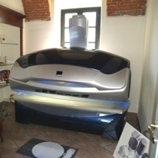 Cabina con lettino iBed