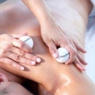 Massaggio con palline da golf
