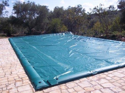 teli protezione piscina