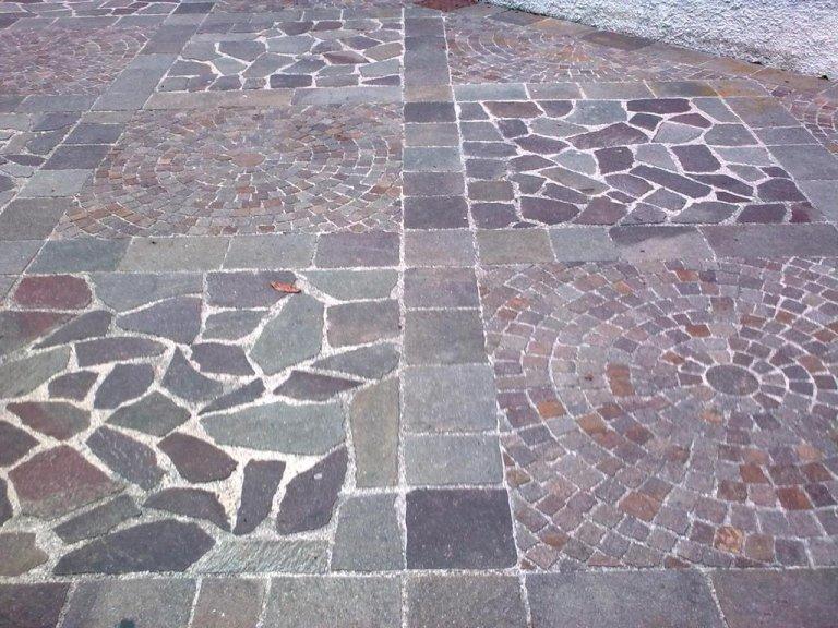 Pavimentazione in marmo verona