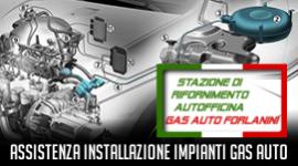 manutenzione impianti gas auto