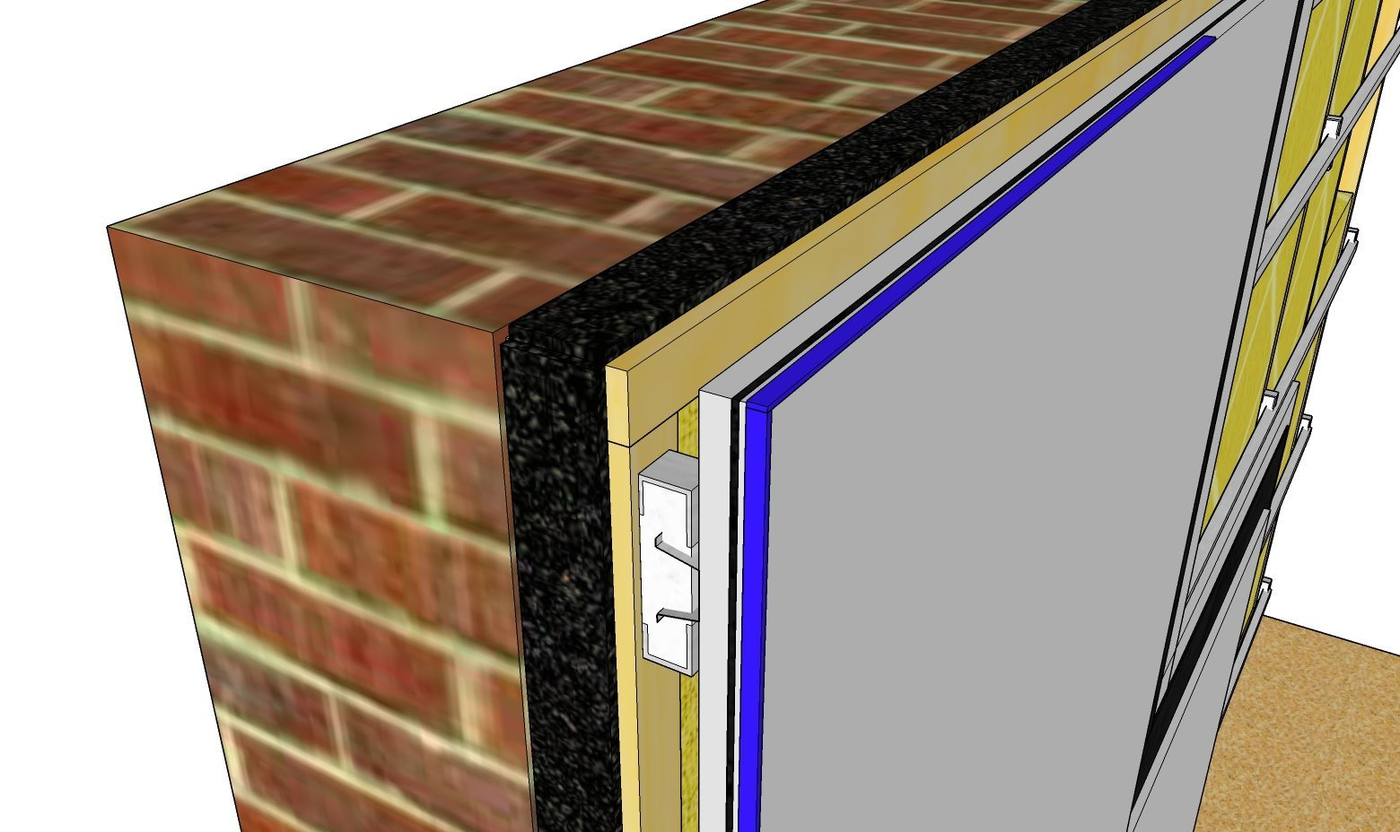Stick On Soundproofing For Walls : Soundproofing a garden studio