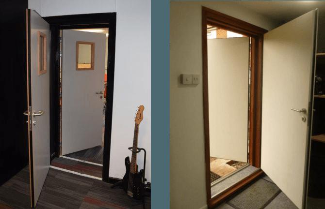 Soundproof Doors Double Door System