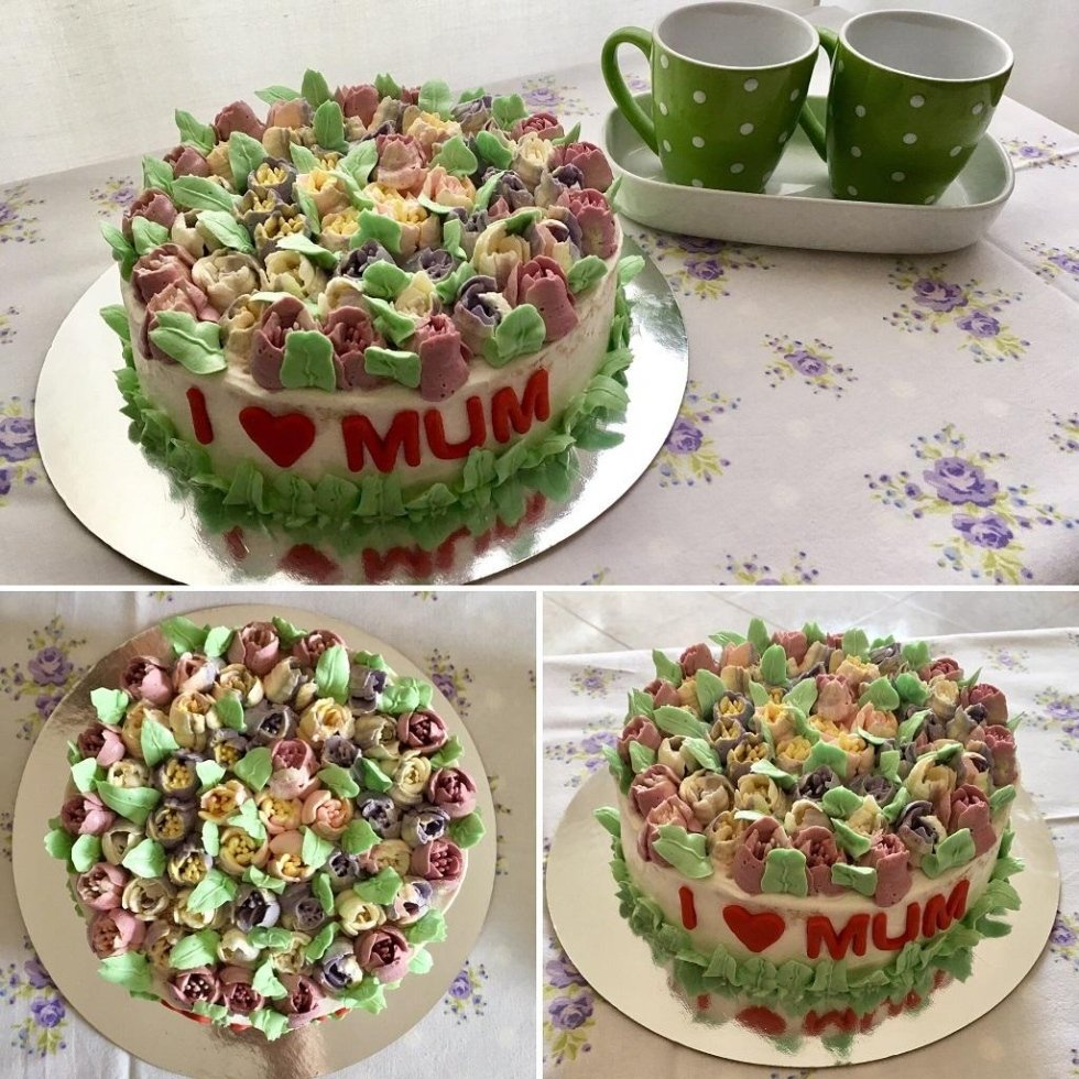 Torta festa della mamma