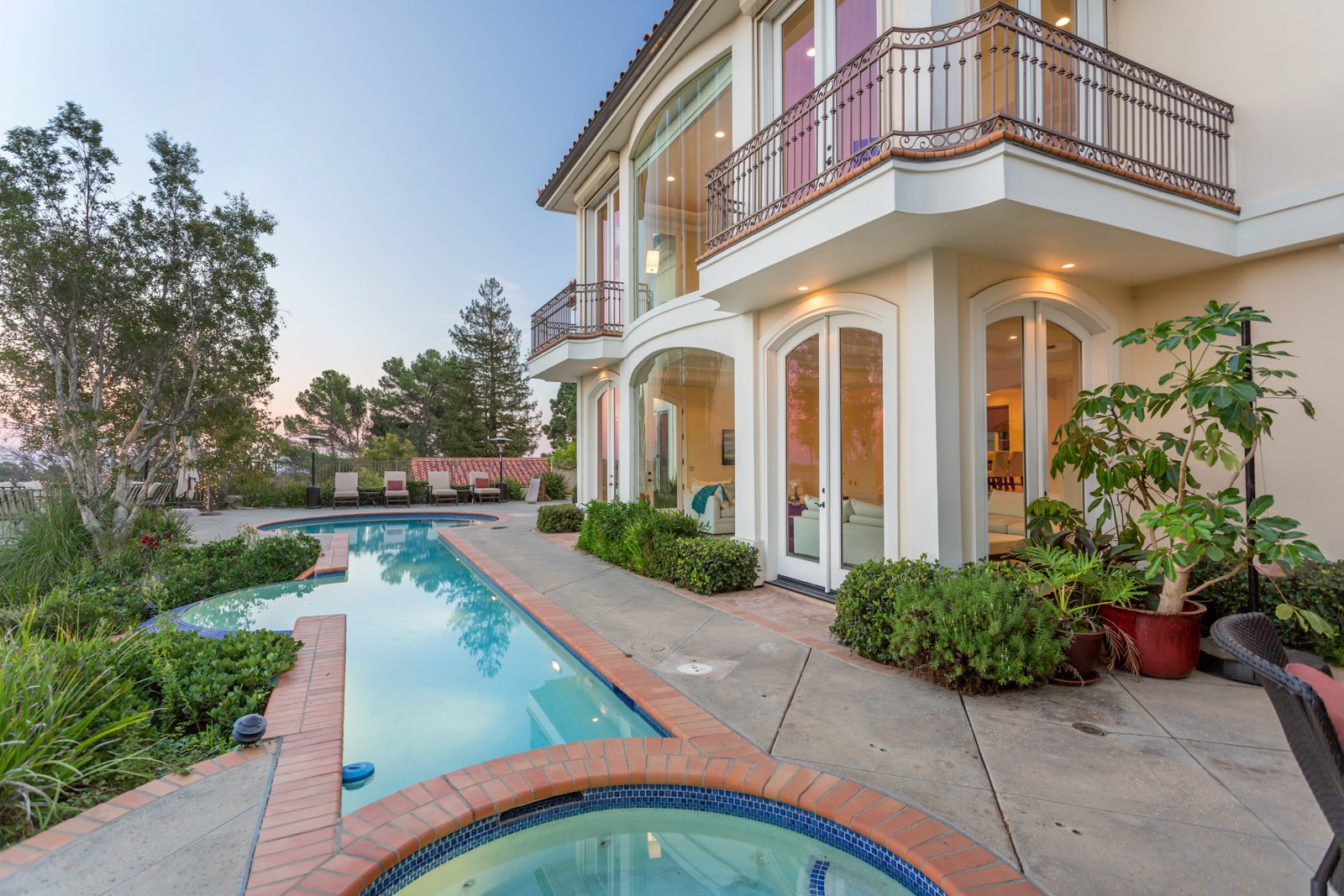 Mediterranean Villa in Bel Air