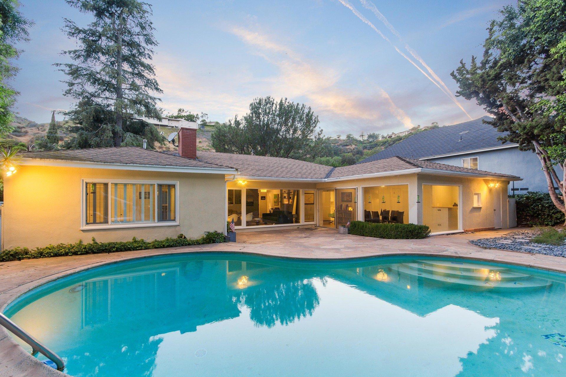 True midcentury opportunity in Beverly Hills
